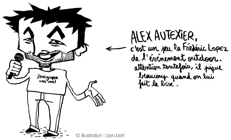 Dessin Alex Autexier par ben.bert